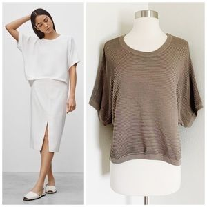 Aritzia | Babaton | Short Sleeve Donald Sweater